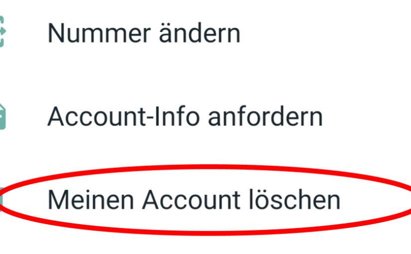 WhatsApp löschen (Anleitung)